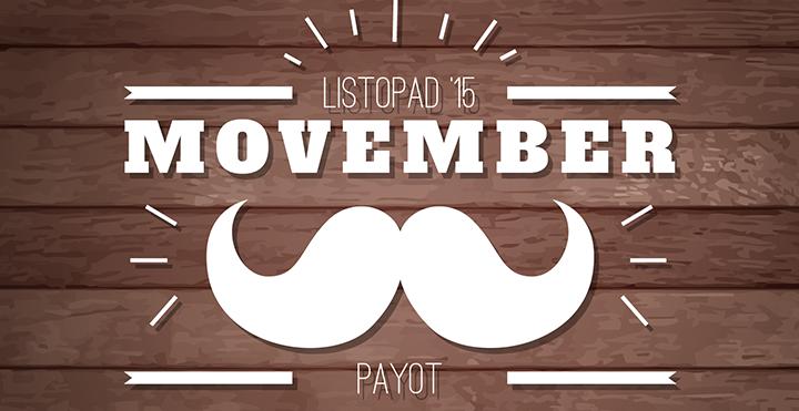 Súťaž Payot Movember! Mesiac fúzov je späť.
