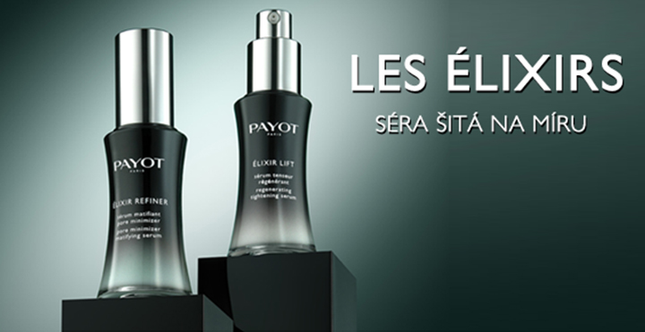 Vyskúšajte nové elixíry krásy od PAYOT!